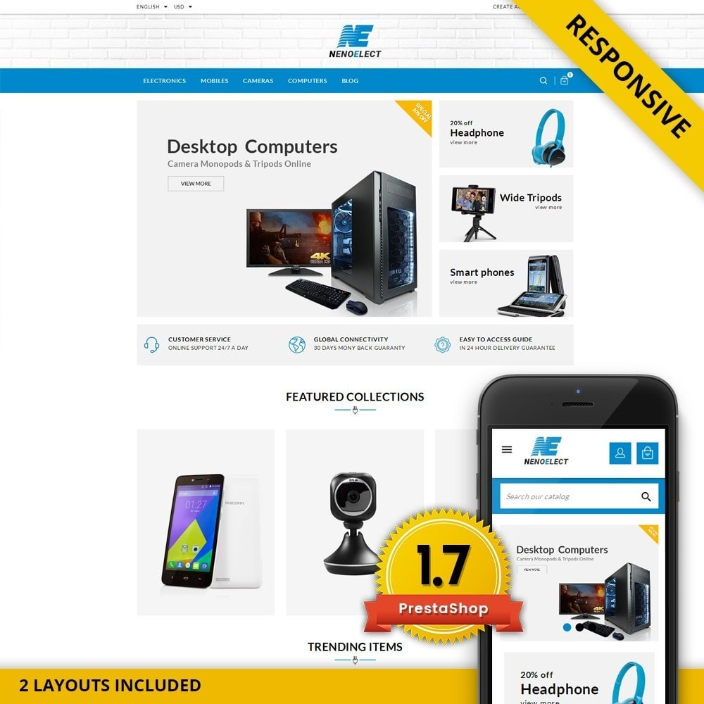 theme - Elettronica & High Tech - NenoElect - All Electronics Store - 1
