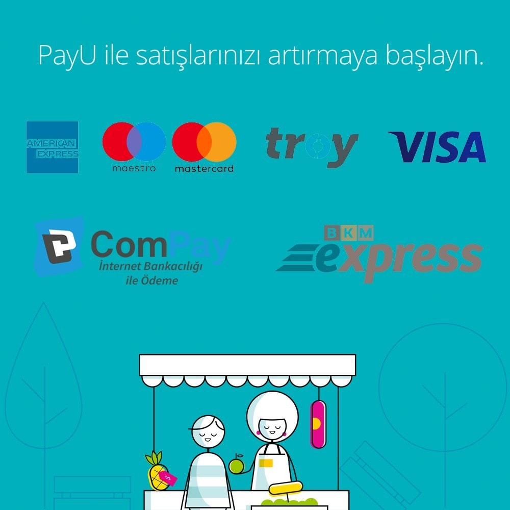 module - Payment by Card or Wallet - PayU Turkey Sanal POS Payment - 2