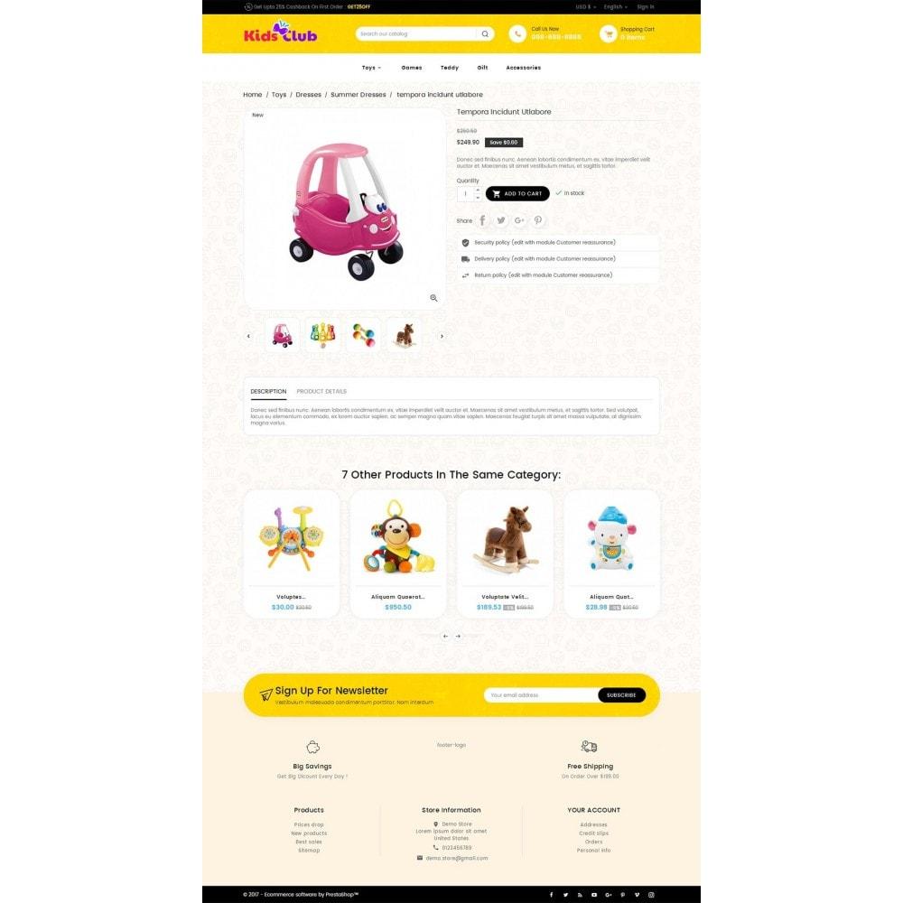 theme - Zabawki & Artykuły dziecięce - Kids Toy Club - 5