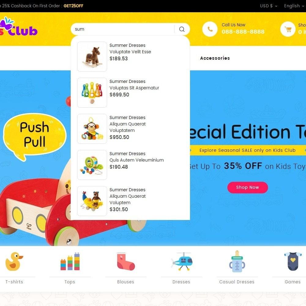 theme - Zabawki & Artykuły dziecięce - Kids Toy Club - 10
