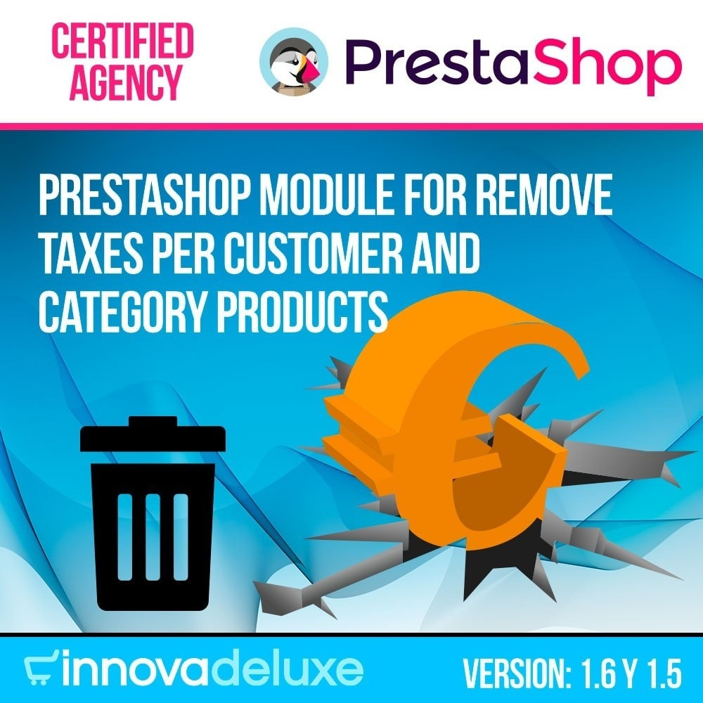 module - B2B - Tax remover (customers/categories) - 1