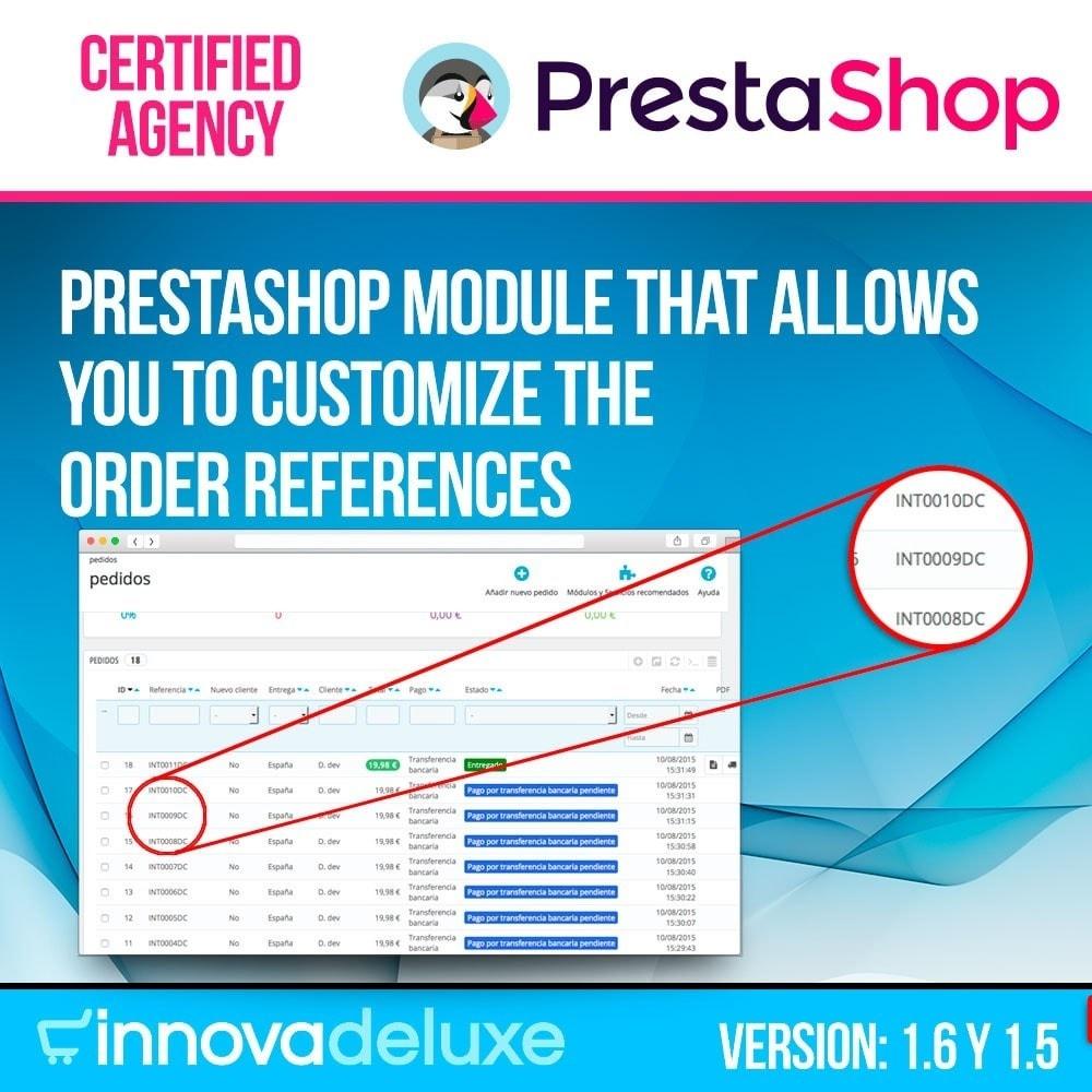 module - Accounting & Invoicing - Customizing Order Reference - 1