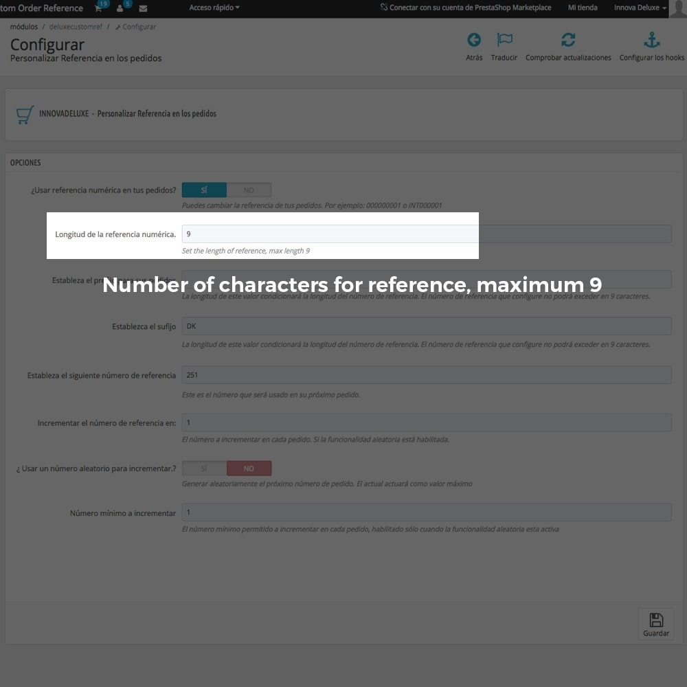 module - Accounting & Invoicing - Customizing Order Reference - 4