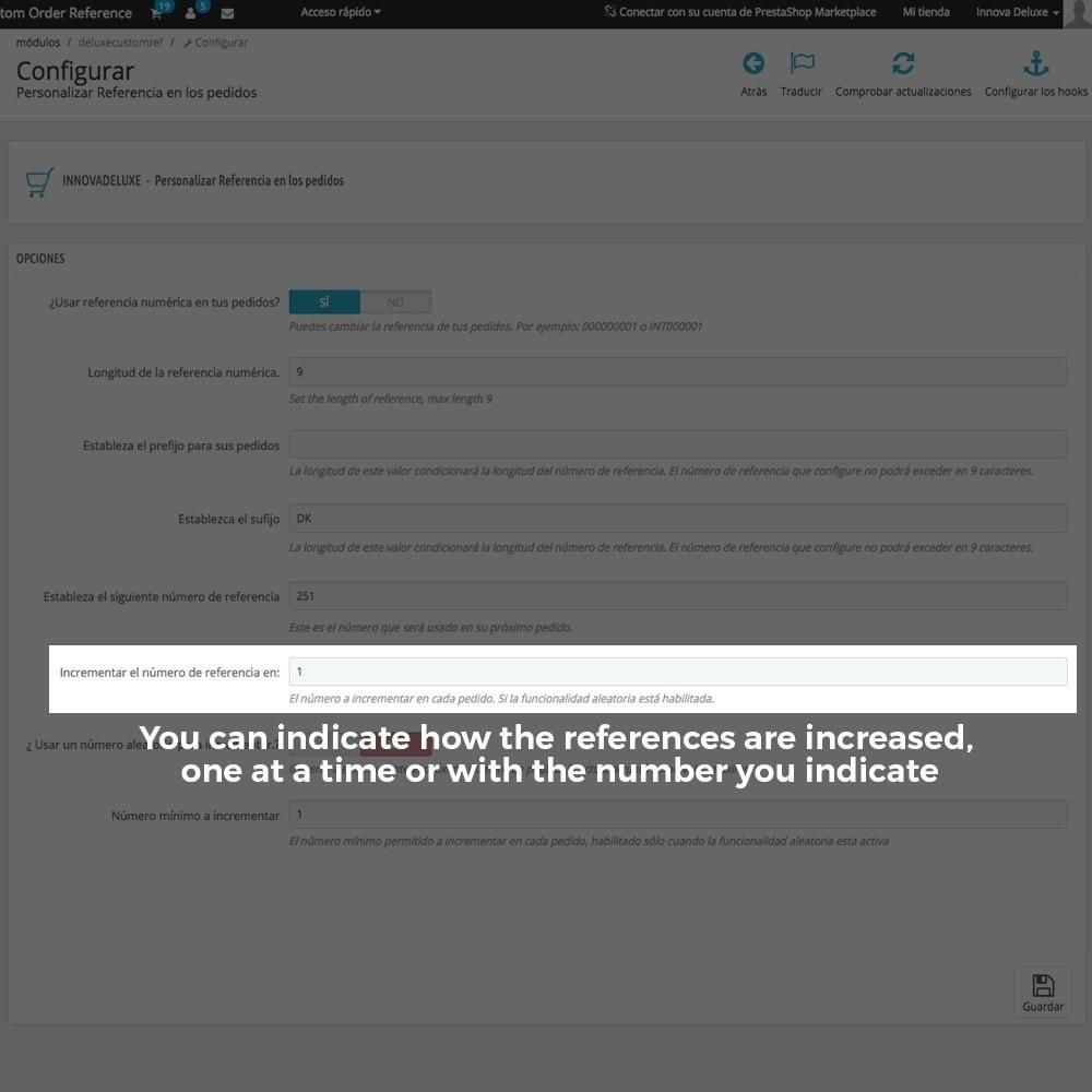 module - Бухгалтерии и выставления счетов - Customizing Order Reference - 8