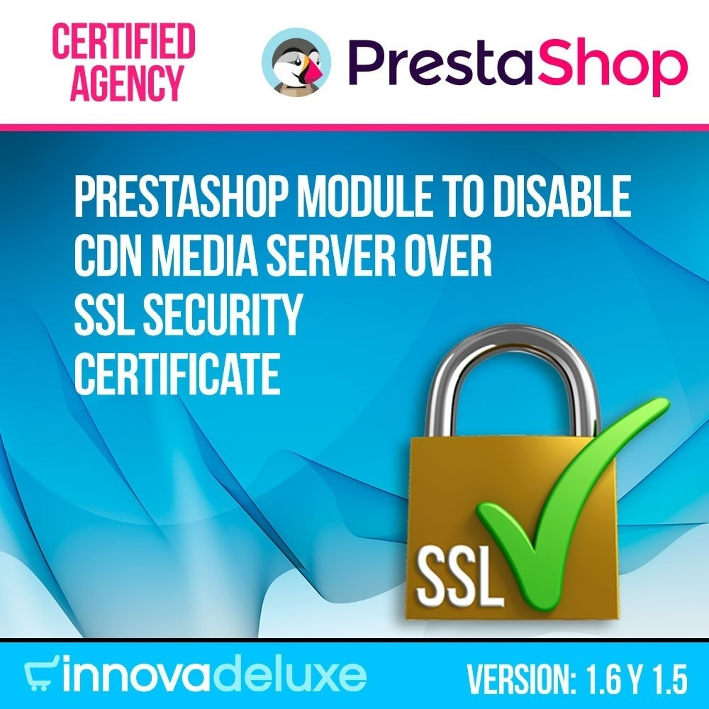 module - Bezpieczeństwa & Dostępu - Disable CDN media server over SSL security certificate - 1