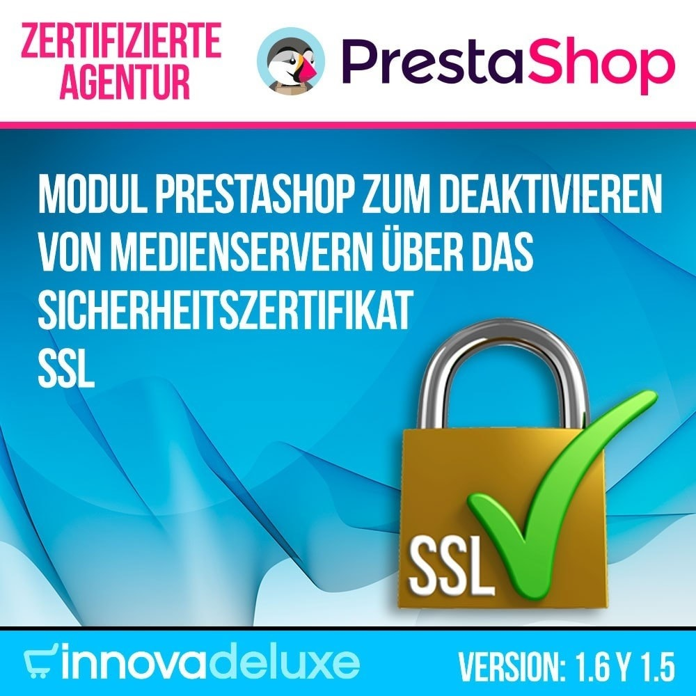 module - Sicherheit & Brechtigungen - Desaktivieren von Medienservern CDN über SSL - 1