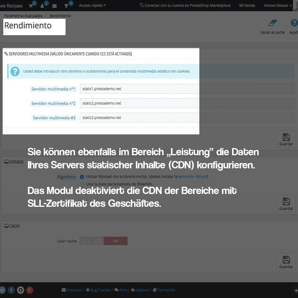 module - Sicherheit & Brechtigungen - Desaktivieren von Medienservern CDN über SSL - 4