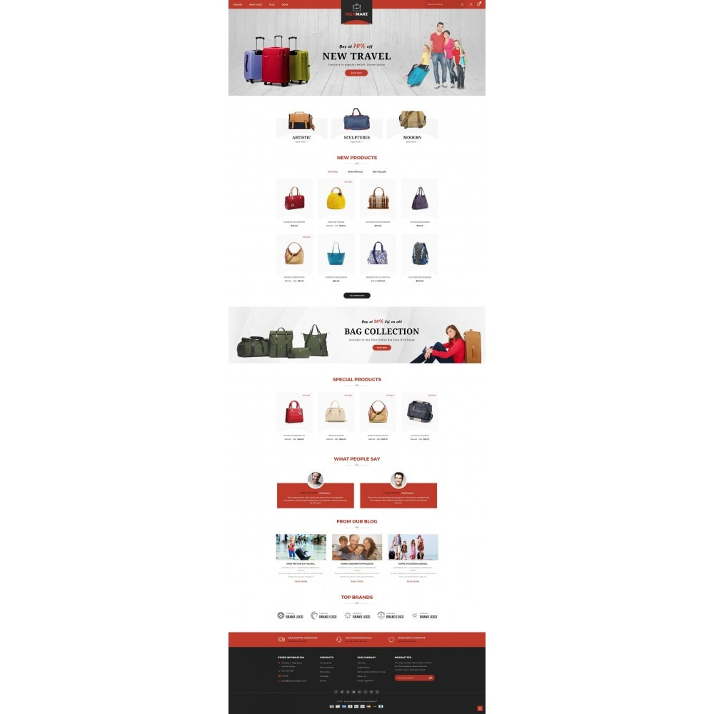 theme - Mode & Chaussures - MonMart Bag Store - 2