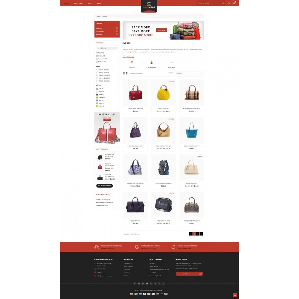 theme - Mode & Chaussures - MonMart Bag Store - 3
