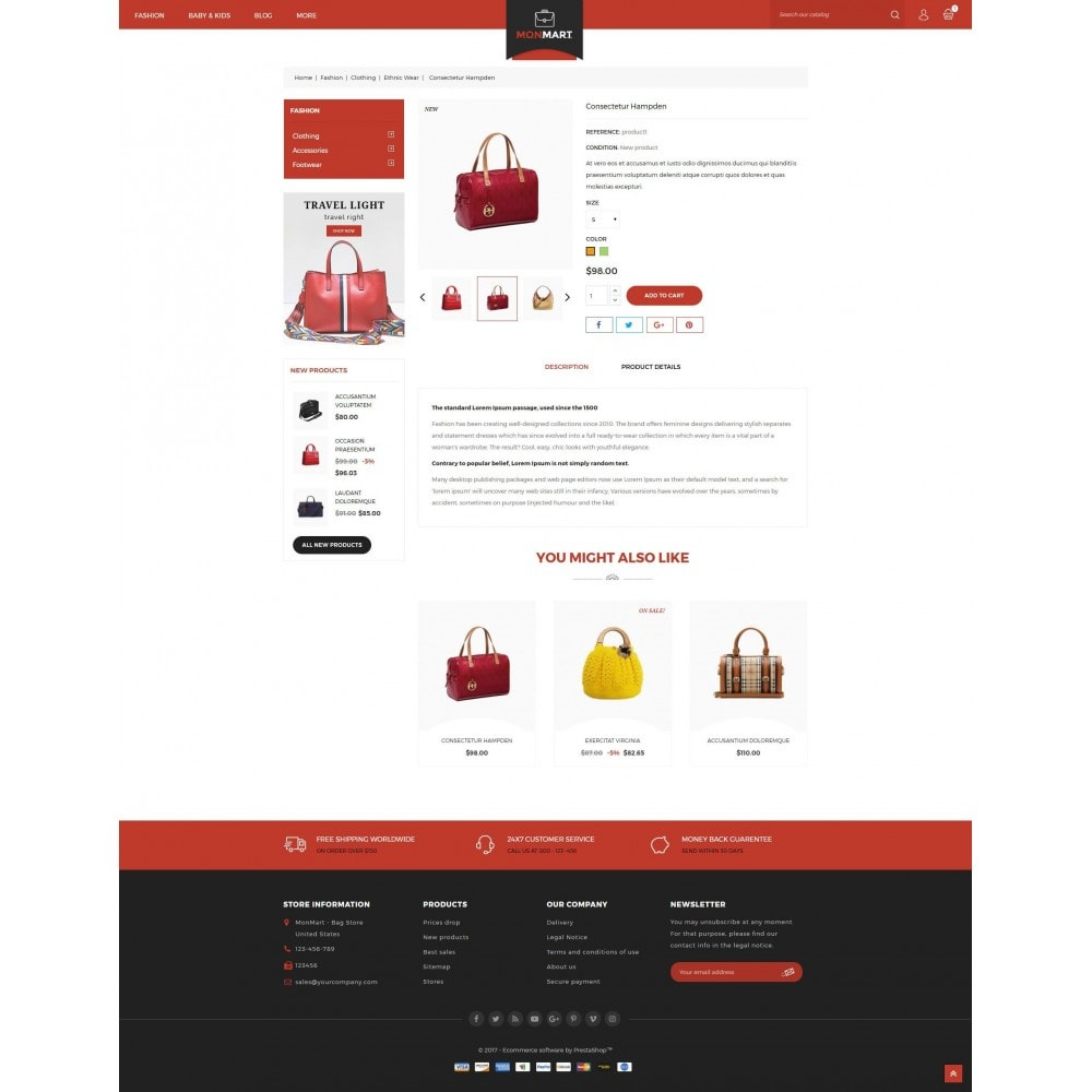 theme - Mode & Chaussures - MonMart Bag Store - 5