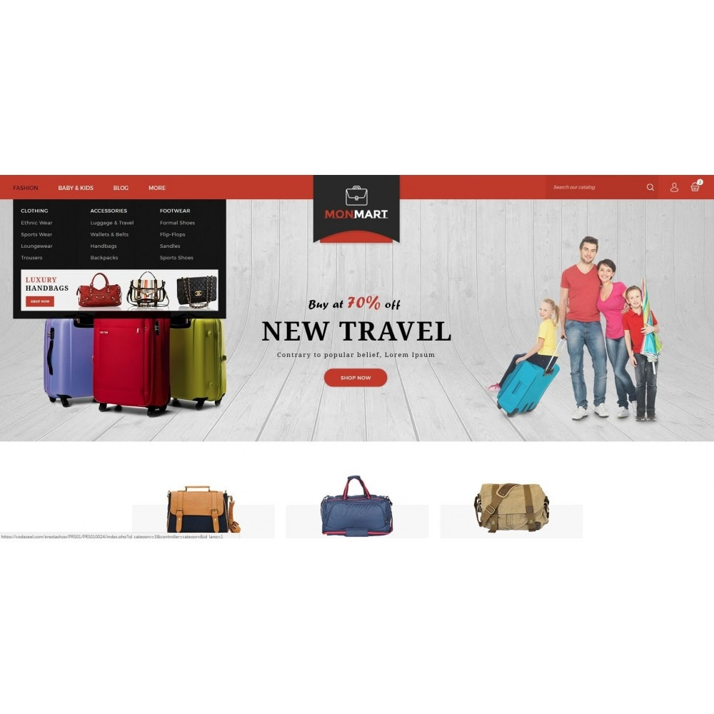 theme - Mode & Chaussures - MonMart Bag Store - 6