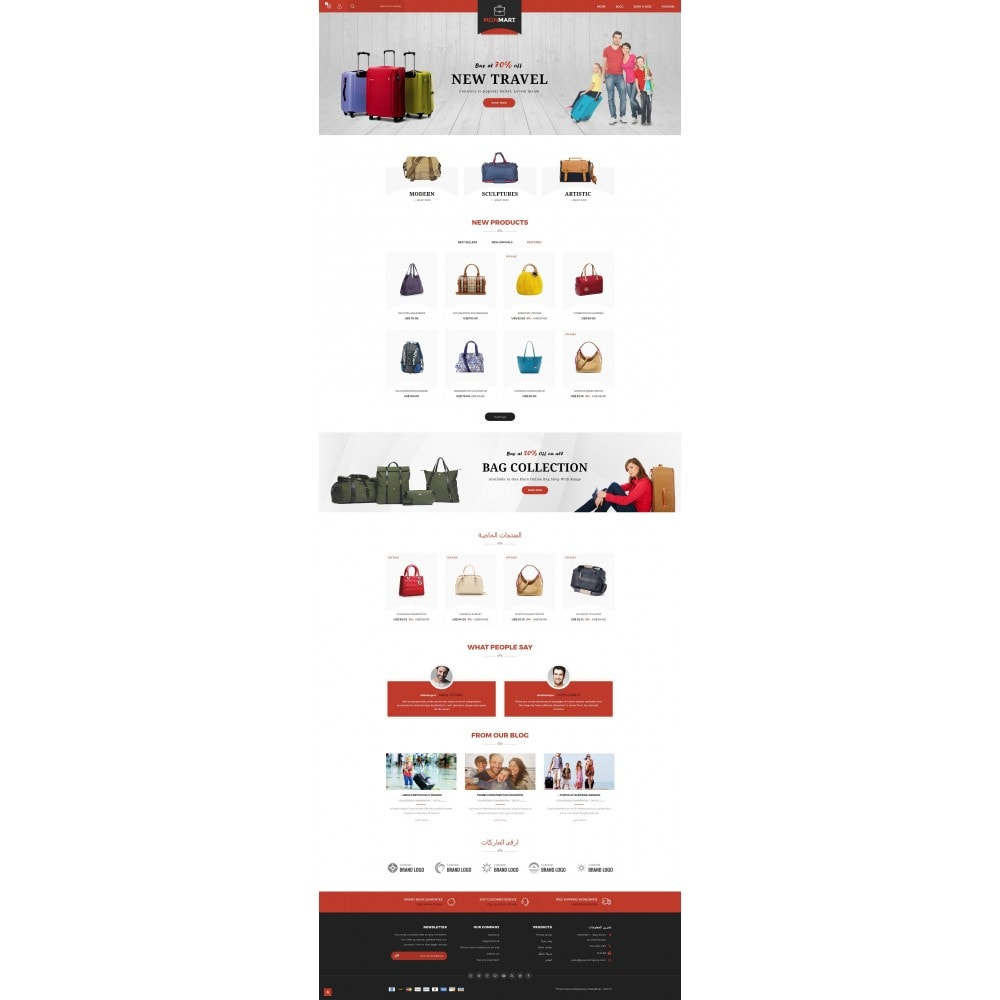 theme - Mode & Chaussures - MonMart Bag Store - 10