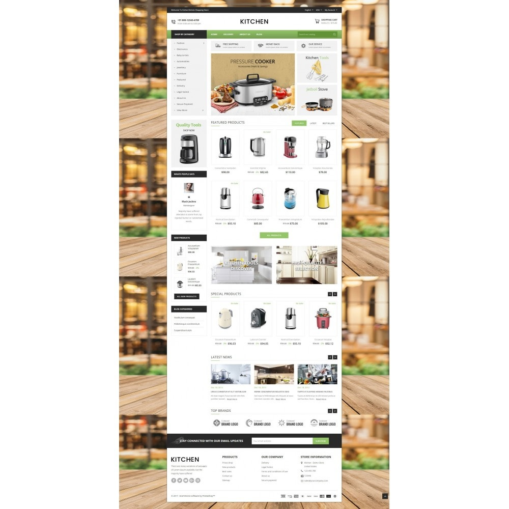 theme - Home & Garden - Online Kitchen Store - 2
