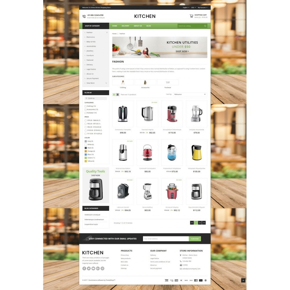 theme - Home & Garden - Online Kitchen Store - 3