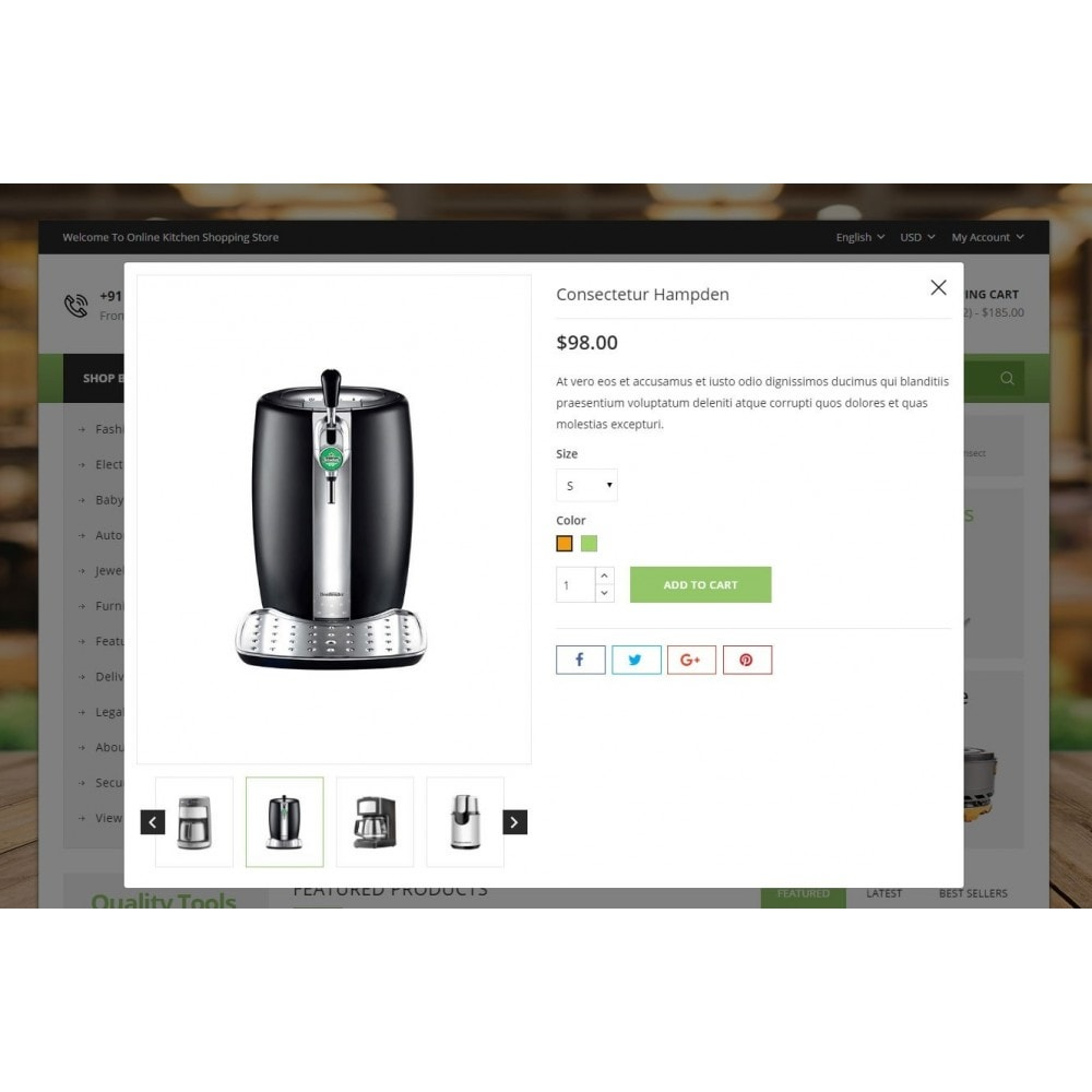 theme - Home & Garden - Online Kitchen Store - 7