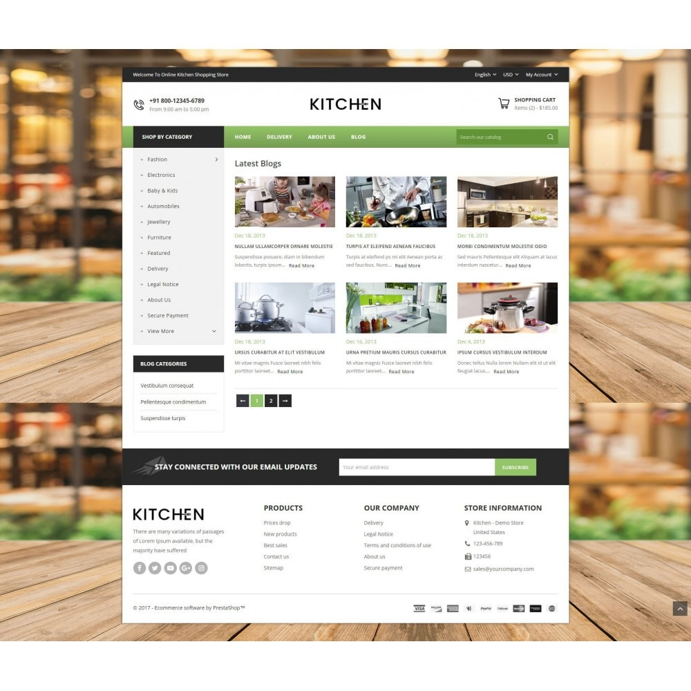 theme - Home & Garden - Online Kitchen Store - 9