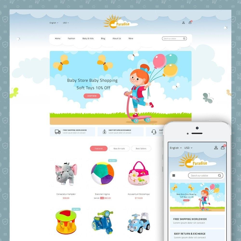 theme - Дети и Игрушки - Paradise Toys Store - 1