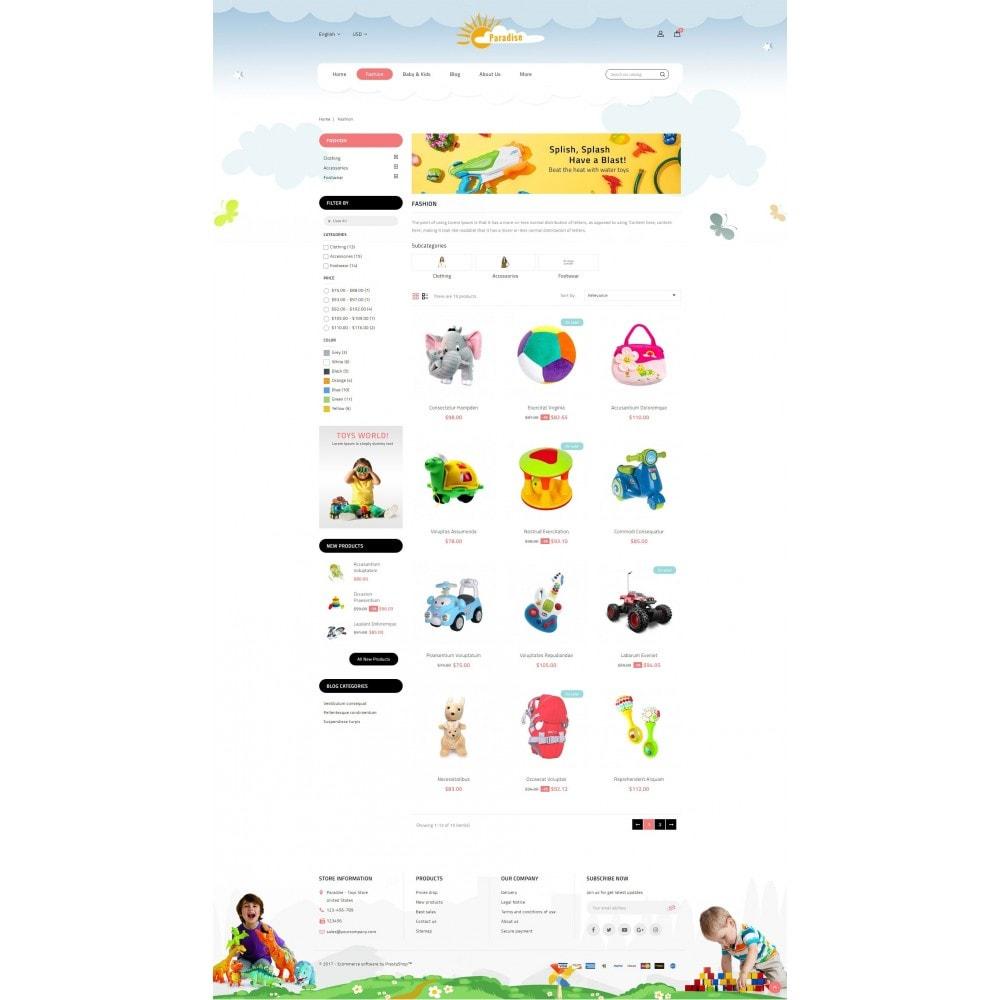 theme - Дети и Игрушки - Paradise Toys Store - 3