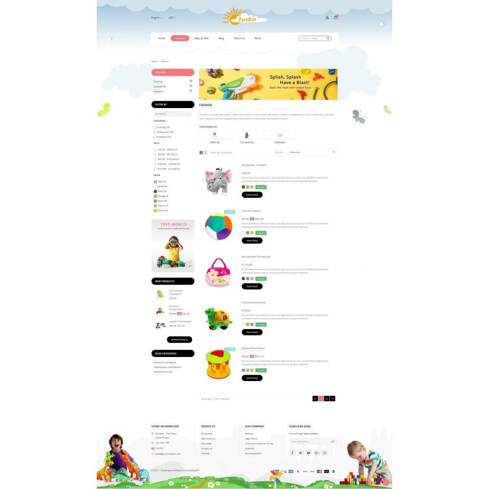 theme - Дети и Игрушки - Paradise Toys Store - 4