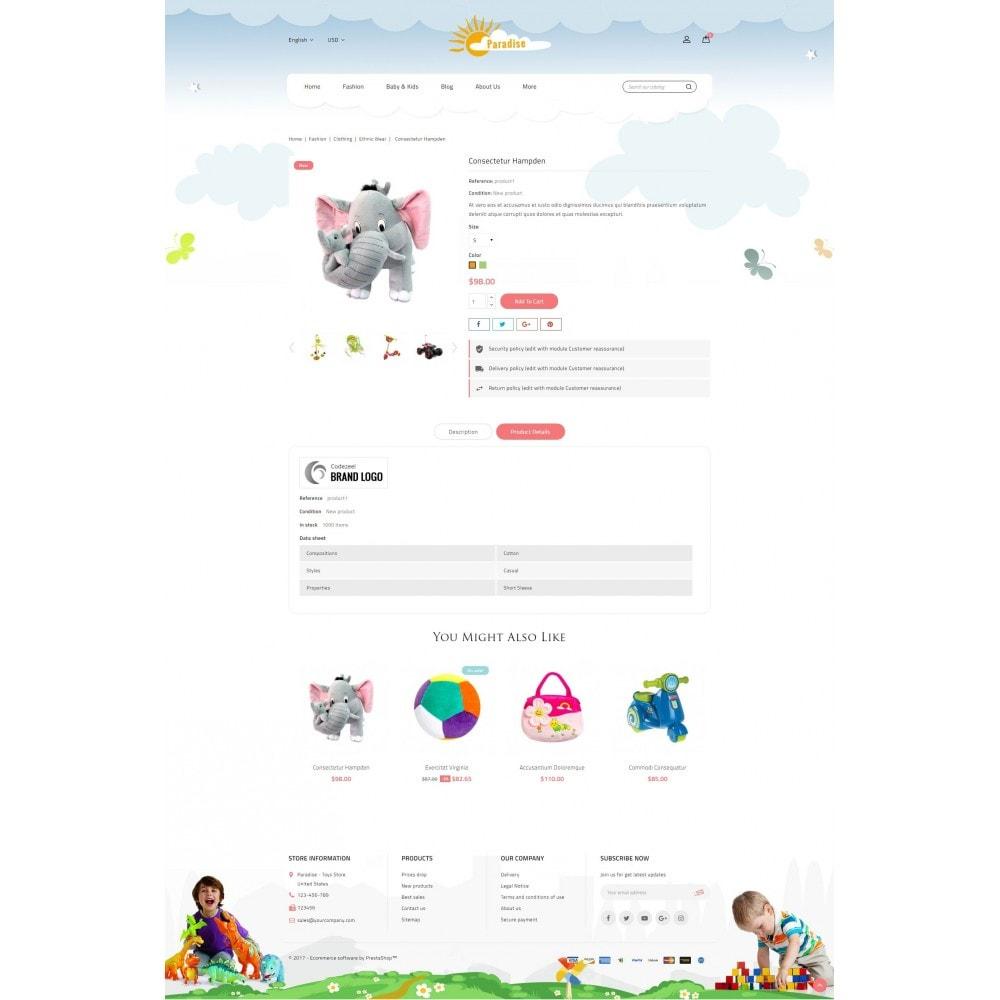 theme - Дети и Игрушки - Paradise Toys Store - 5