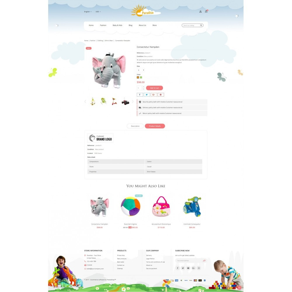 theme - Kinder & Spielzeug - Paradise Toys Store - 5