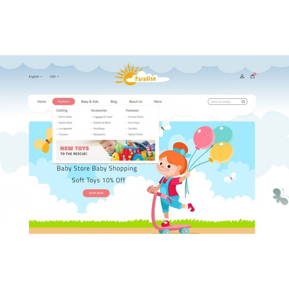theme - Kinder & Spielzeug - Paradise Toys Store - 6