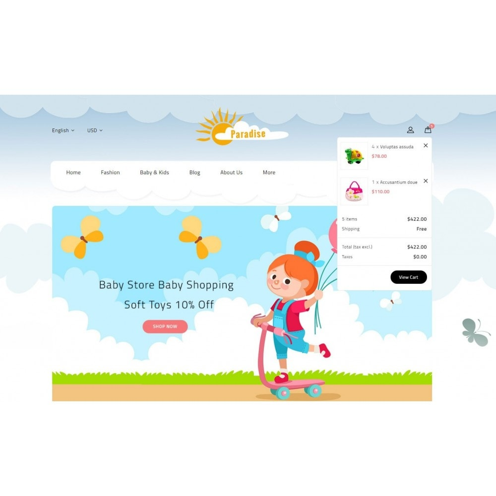 theme - Дети и Игрушки - Paradise Toys Store - 8