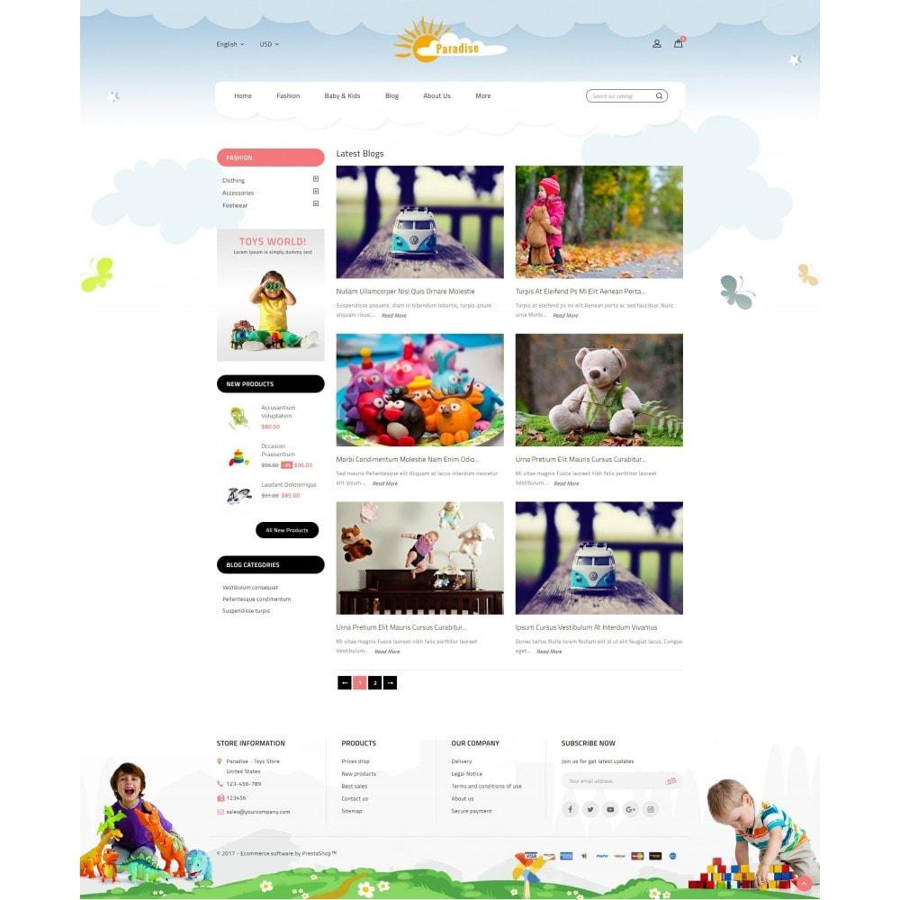 theme - Дети и Игрушки - Paradise Toys Store - 9