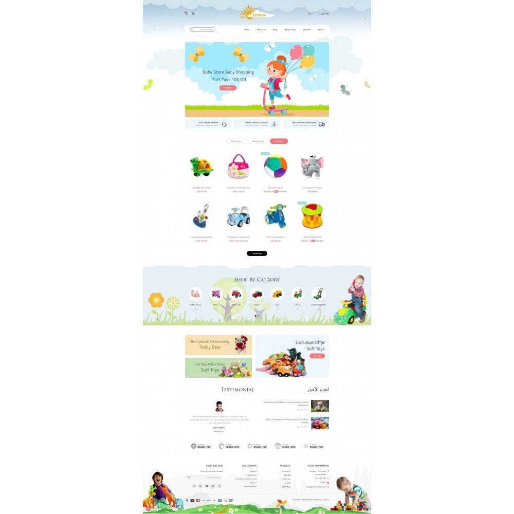 theme - Дети и Игрушки - Paradise Toys Store - 10