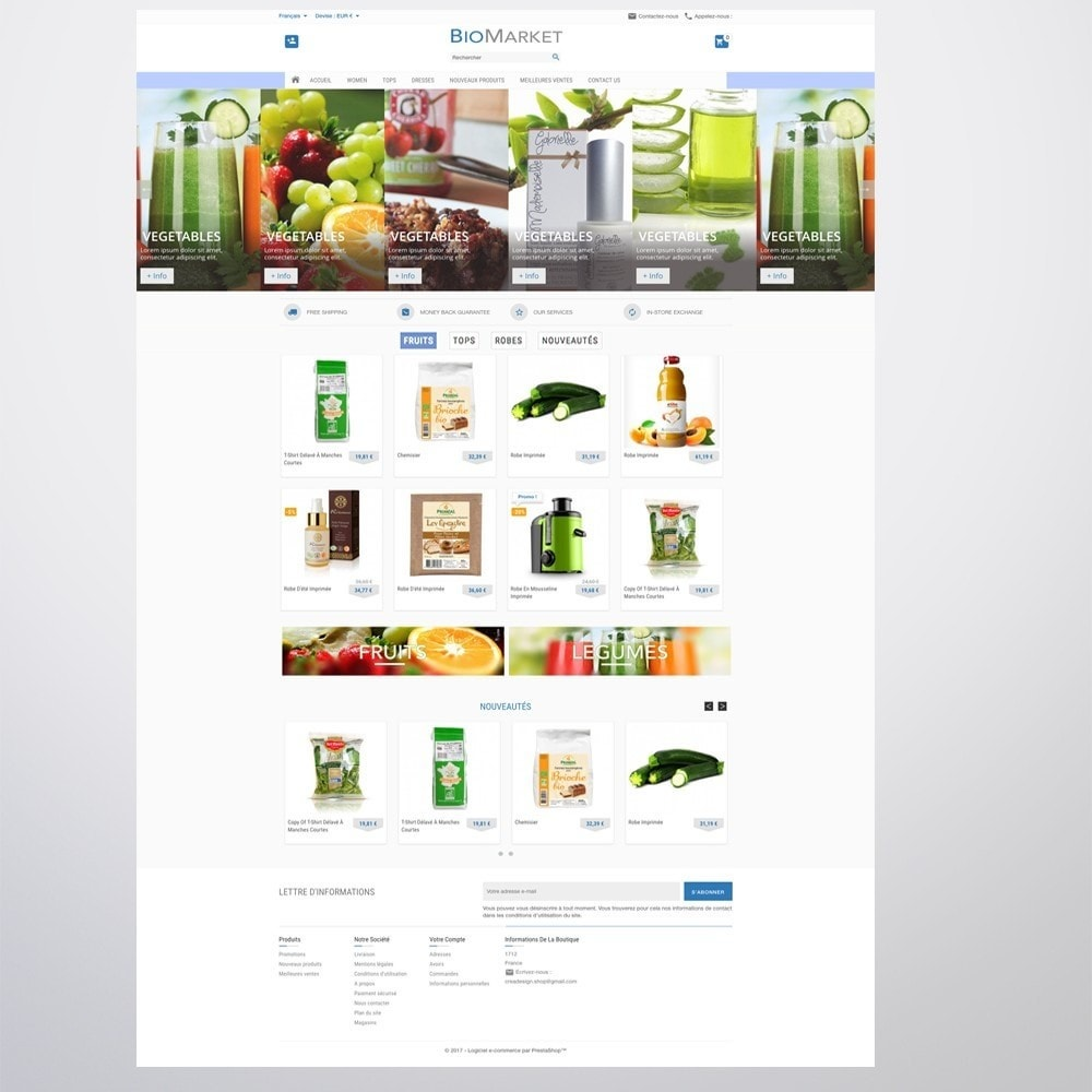 theme - Health & Beauty - Bio Market - 7