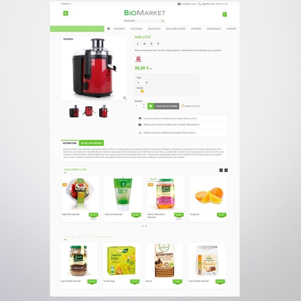 theme - Santé & Beauté - Bio Market - 7