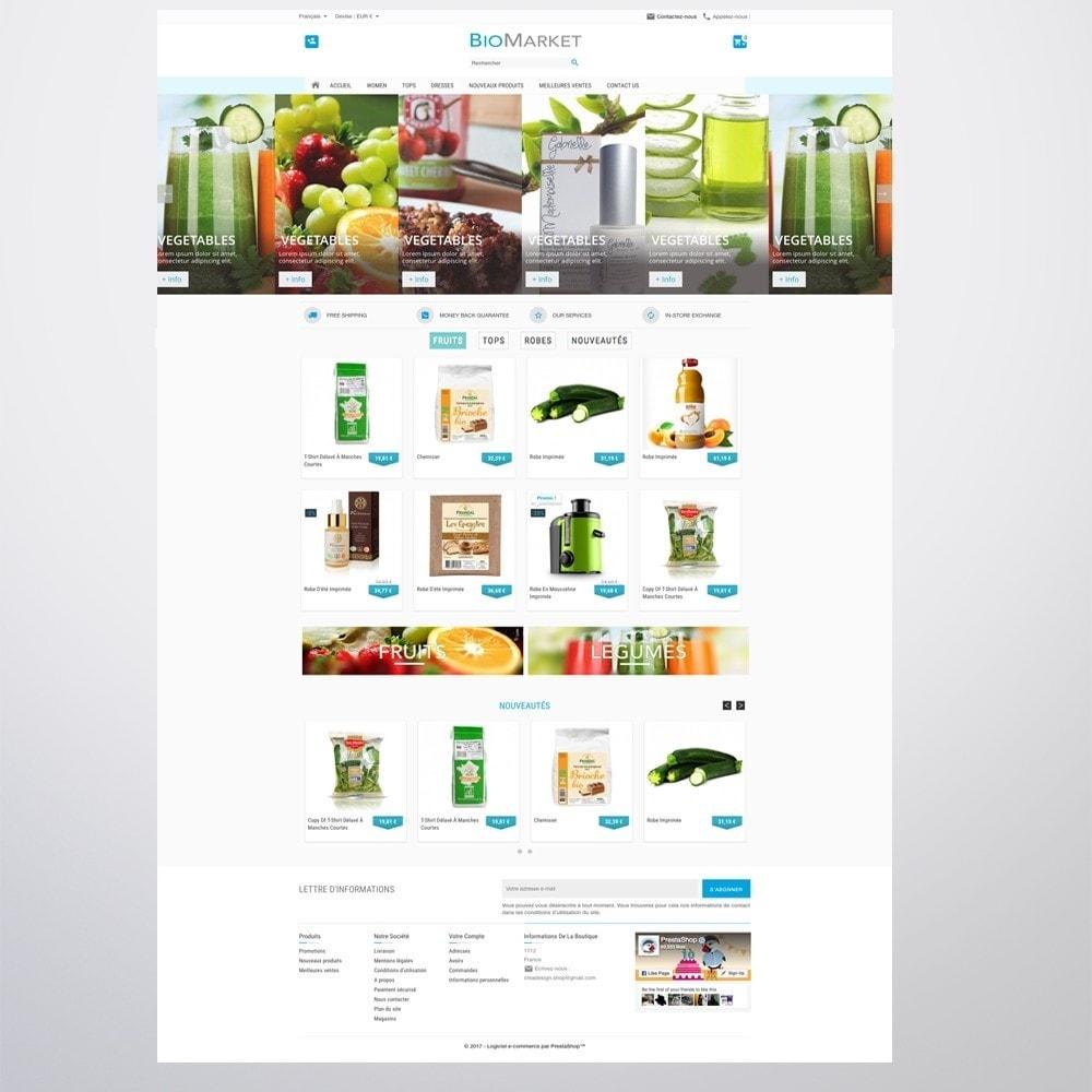 theme - Santé & Beauté - Bio Market - 9