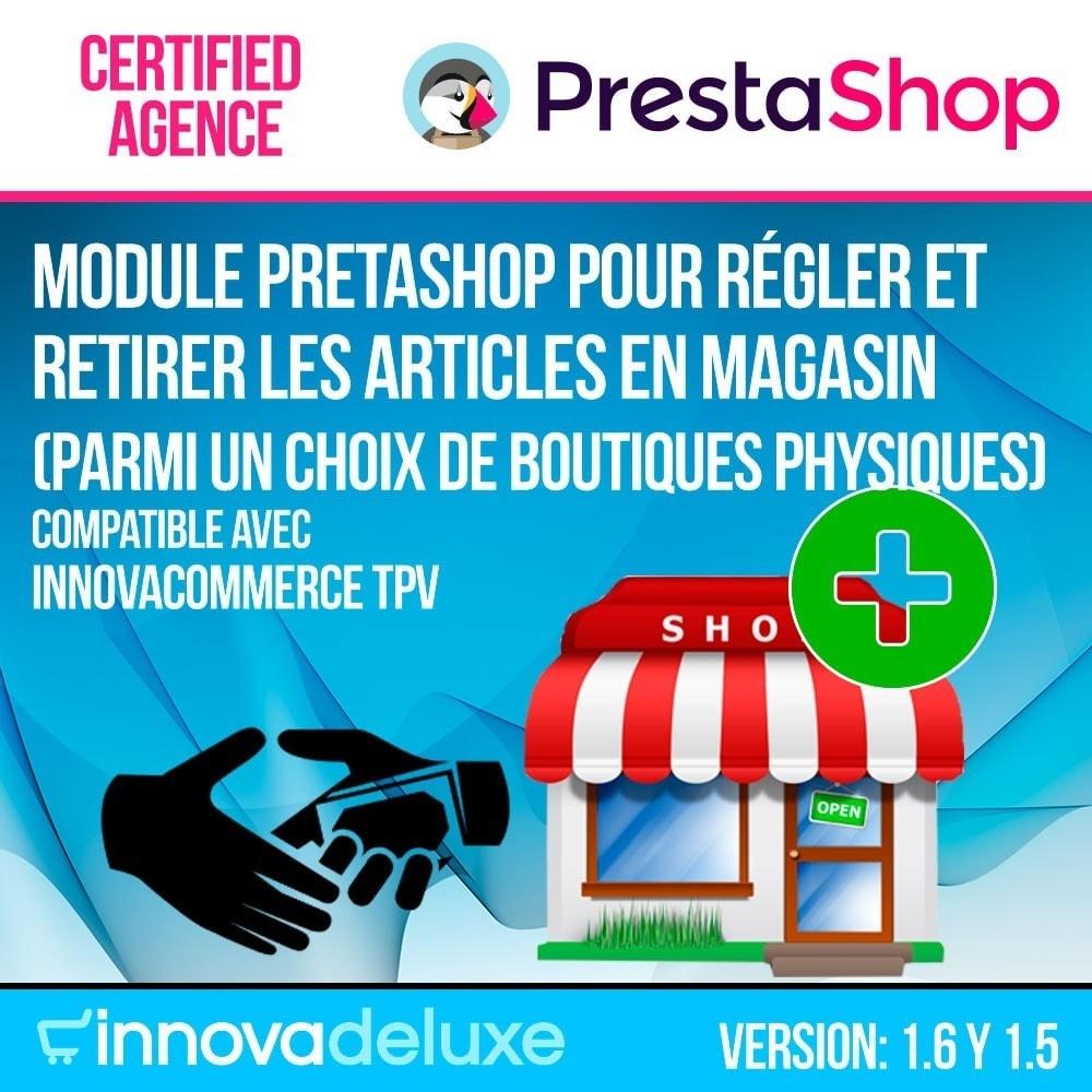 module - Paiement en Magasin - Paiement de magasin (pour les magasins de la chaîne) - 1