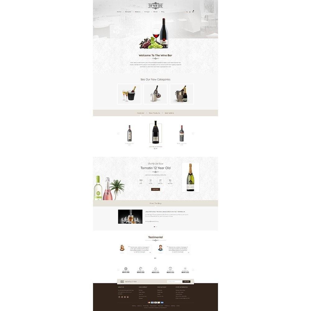 theme - Drink & Wine - Winebar WIne Store - 2