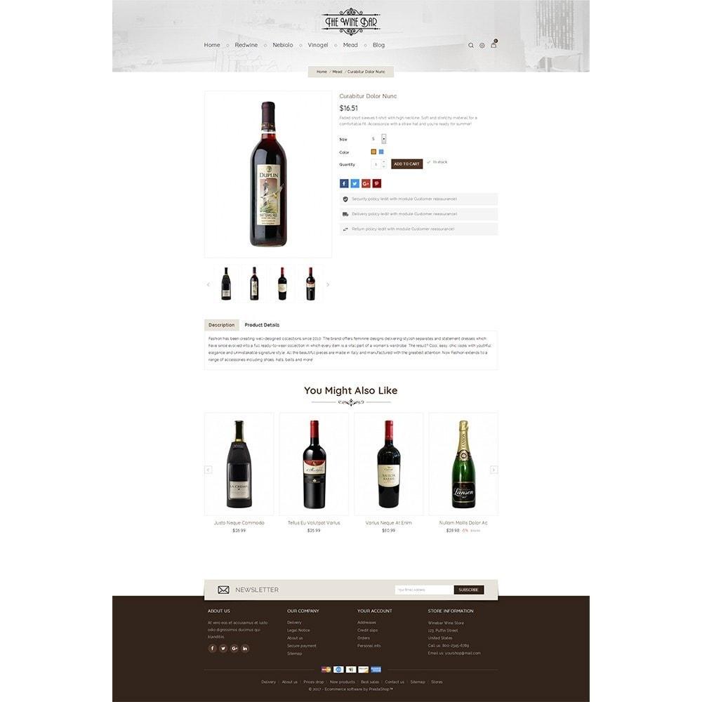 theme - Drink & Wine - Winebar WIne Store - 3