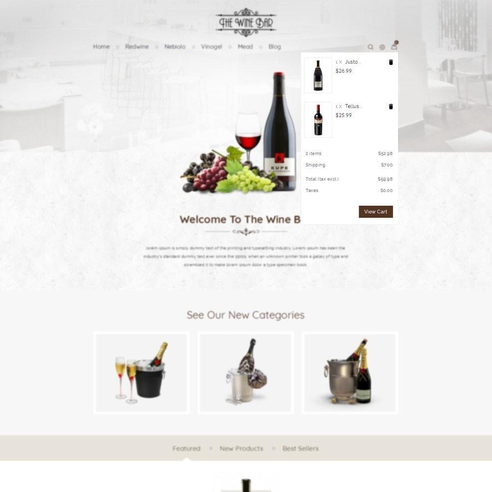 theme - Напитки и с сигареты - Winebar WIne Store - 4
