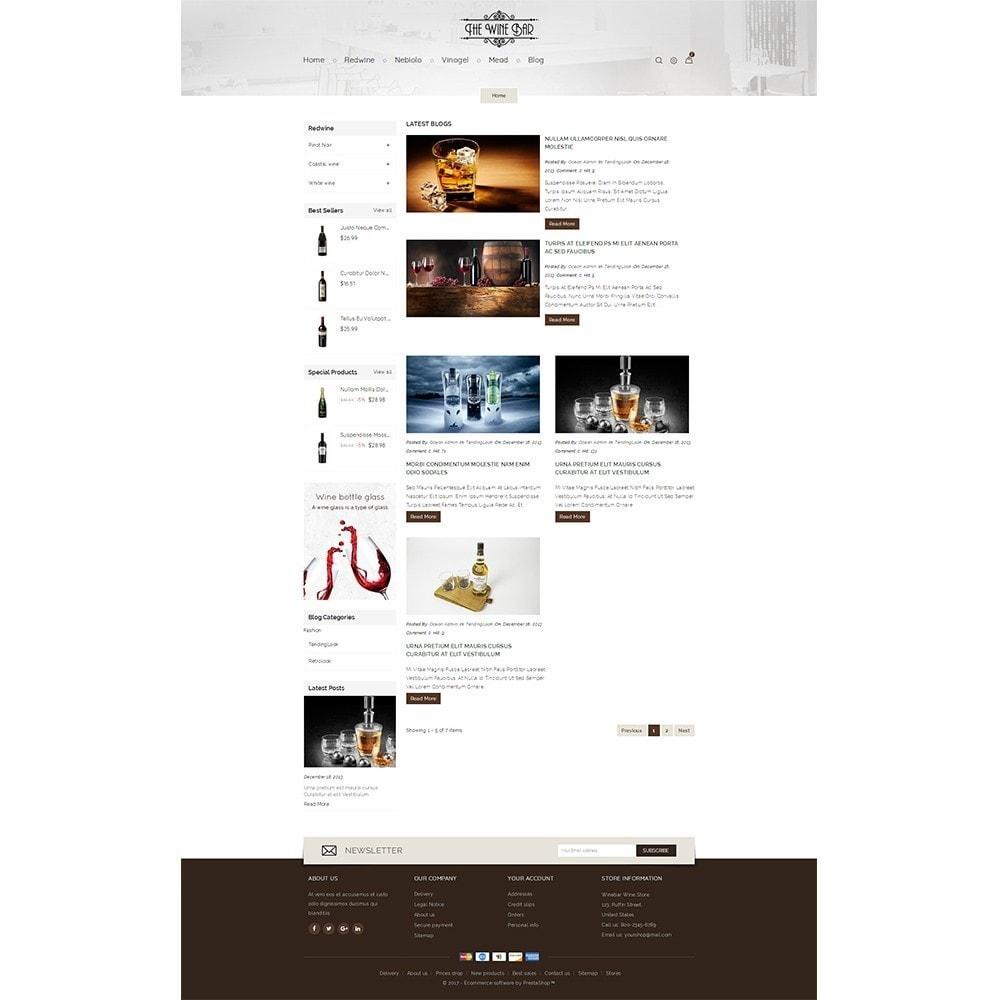 theme - Drink & Wine - Winebar WIne Store - 5