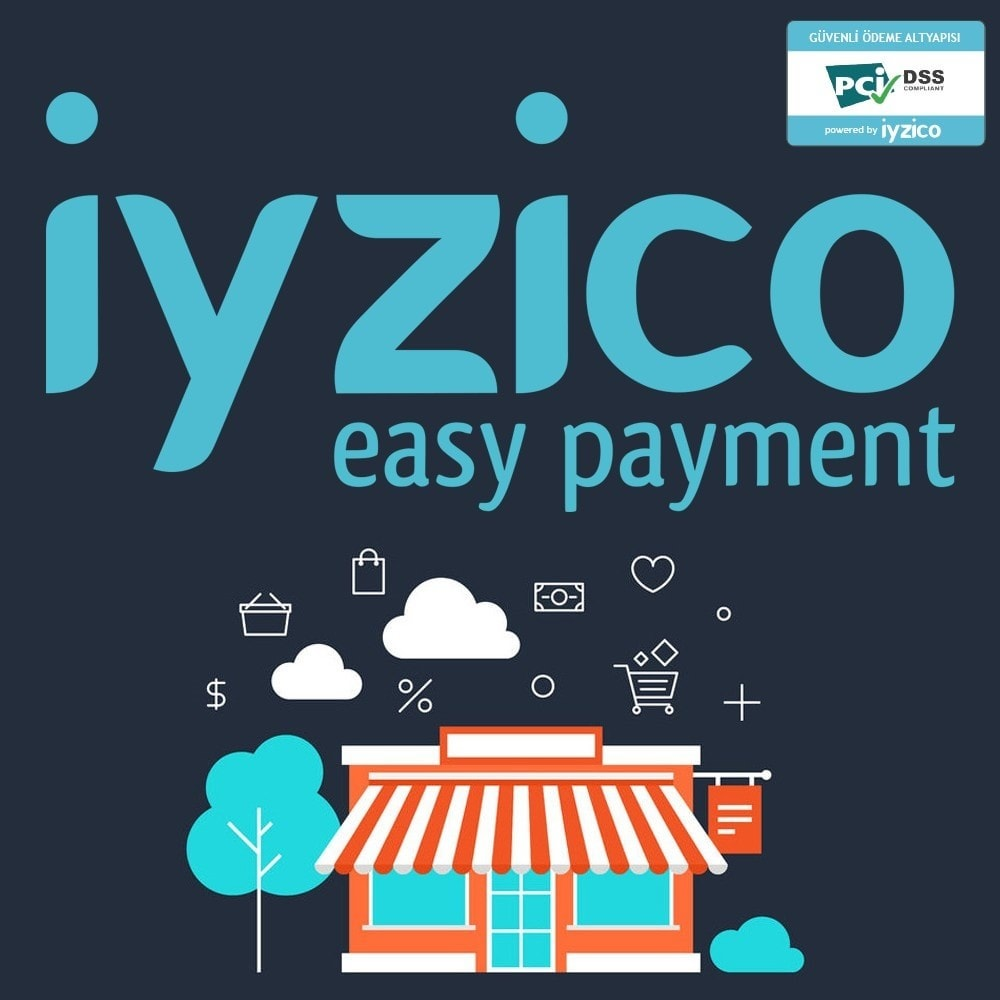 module - Zahlung per Kreditkarte oder Wallet - Iyzico Easy Payment Sanal POS for Turkey - 1