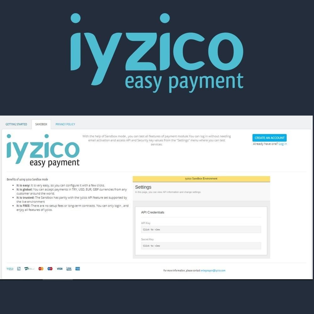 module - Płatność kartą lub Płatność Wallet - Iyzico Easy Payment Sanal POS for Turkey - 4