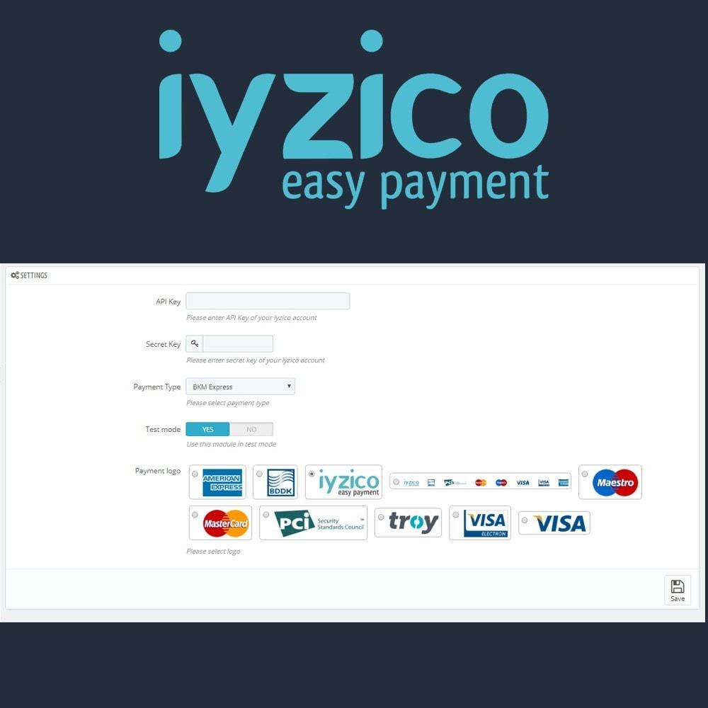 module - Pagamento con Carta di Credito o Wallet - Iyzico Easy Payment Sanal POS for Turkey - 6