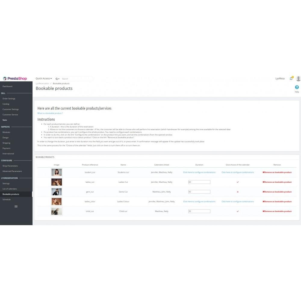 module - Reservierungen & Vermietung - Booking Services  - reservation and customized schedule - 6