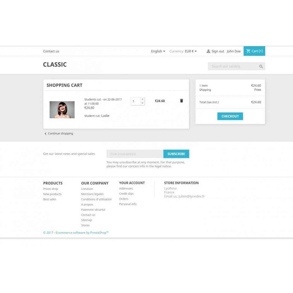 module - Reservierungen & Vermietung - Booking Services  - reservation and customized schedule - 10