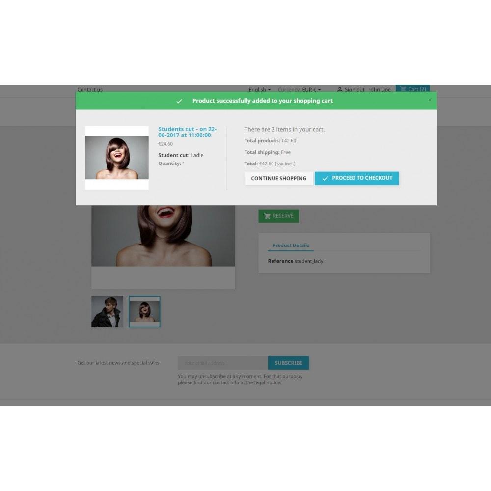 module - Reservierungen & Vermietung - Booking Services  - reservation and customized schedule - 11