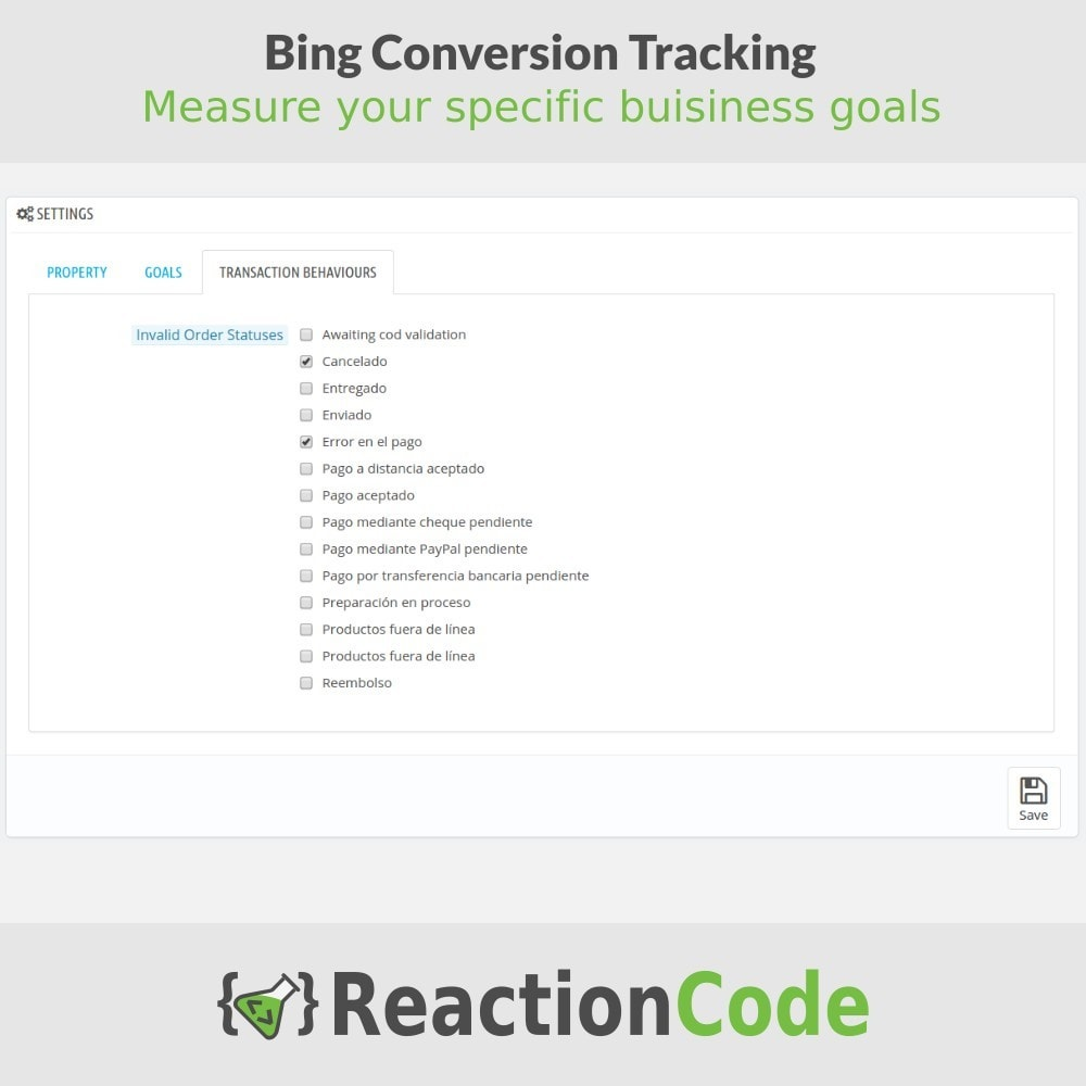 module - Analyses & Statistiques - Bing Conversion Tracking - 4