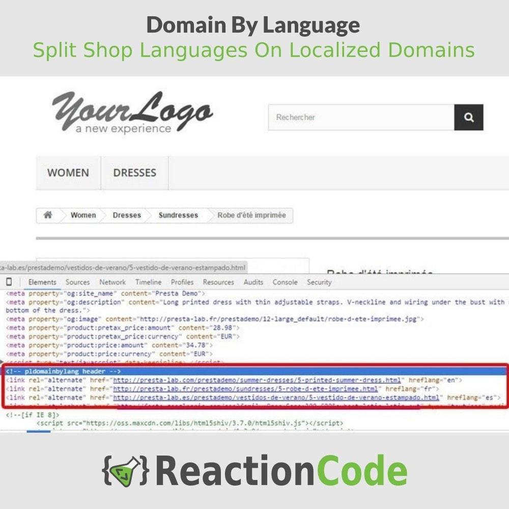 module - Естественная поисковая оптимизация - One Domain By Language - 5