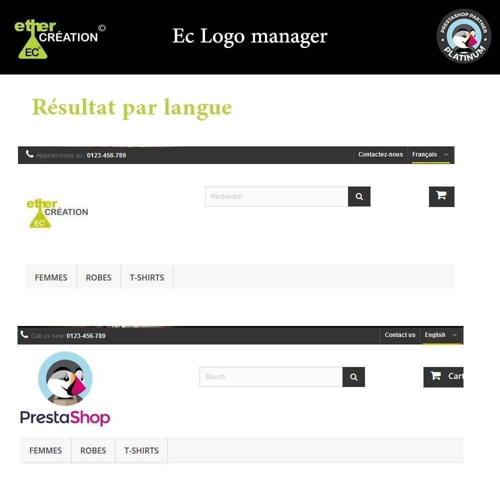 module - International & Localisation - Logo différent par langue sur le site, facture, mobile - 3