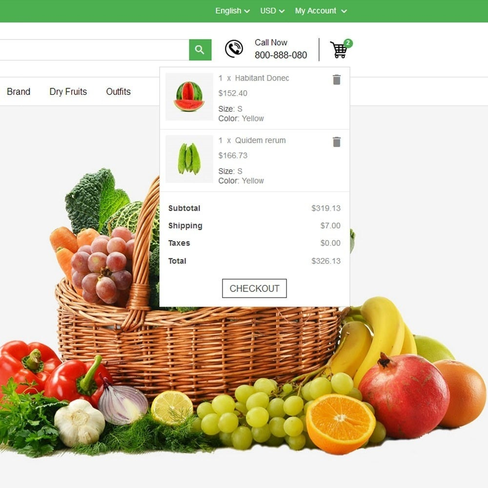 theme - Cibo & Ristorazione - Fresh Fruits And Vegetables Store - 4