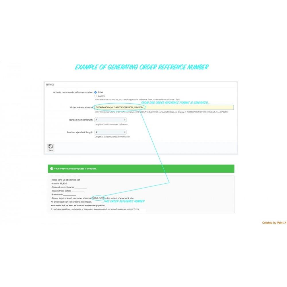 module - Gestione Ordini - Impostazioni avanzate di formato e numero dell'ordine - 1