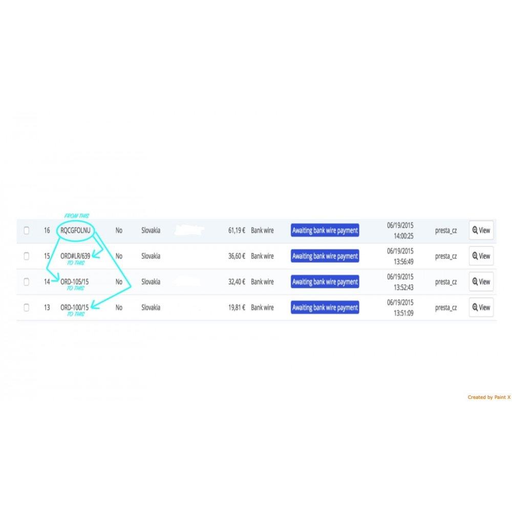 module - Gestione Ordini - Impostazioni avanzate di formato e numero dell'ordine - 3