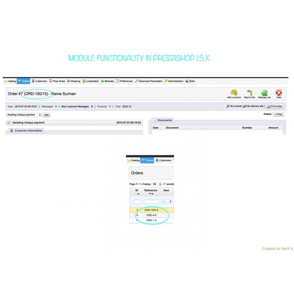 module - Gestione Ordini - Impostazioni avanzate di formato e numero dell'ordine - 7